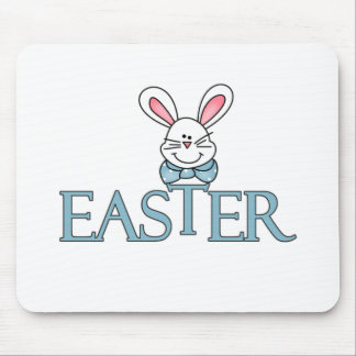 Blue Bunny Easter T-shirts and Gifts Mouse Pad