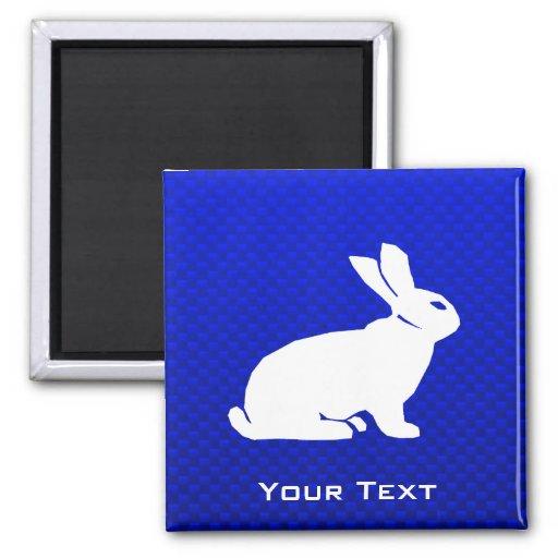 Blue Bunny Fridge Magnet