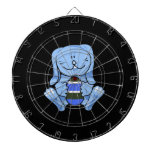 Blue bunny holding egg.png dartboard with darts