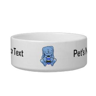 Blue bunny holding egg.png pet food bowls