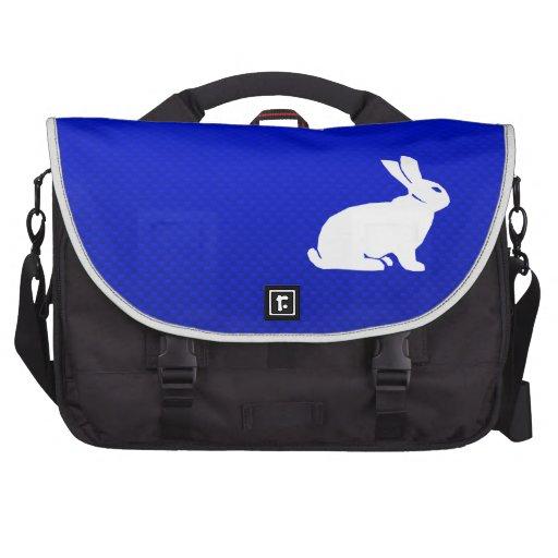 Blue Bunny Laptop Commuter Bag