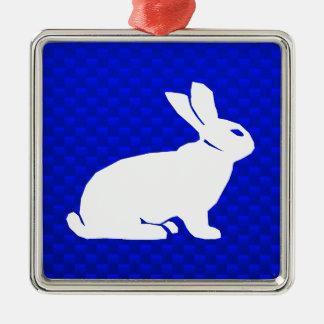 Blue Bunny Ornaments