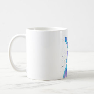 Blue Bunny Peppermint Art Mug