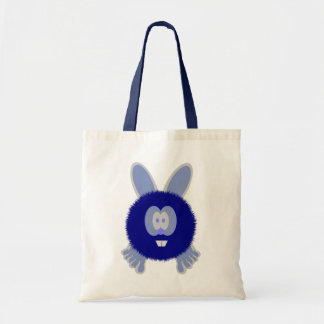 Blue Bunny Pom Pom Pal Bag