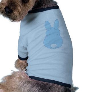 Blue Bunny Rabbit Doggie Tee Shirt
