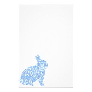 Blue Bunny Stationery