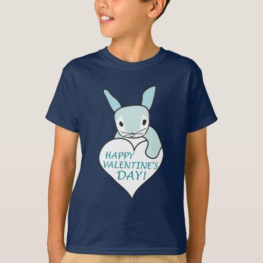 Blue Bunny Valentine T-Shirt