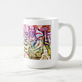 Blue Burmese Cubed Classic White Coffee Mug