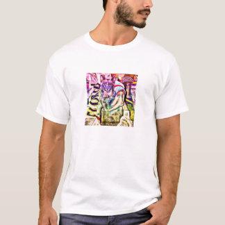 Blue Burmese, Cubism T-Shirt