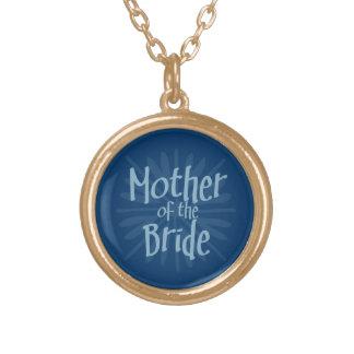 Blue Burst Mother of the Bride Necklace