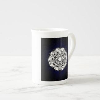 'Blue Burst' Tea Cup
