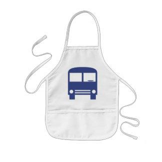 Blue Bus Kids' Apron