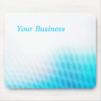 Blue business background mouse pad