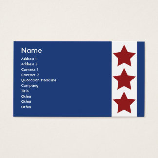 Blue - Business Business Card