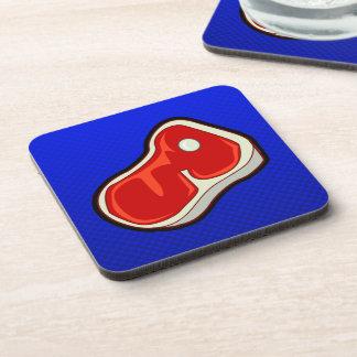 Blue Butcher s Steak Coaster