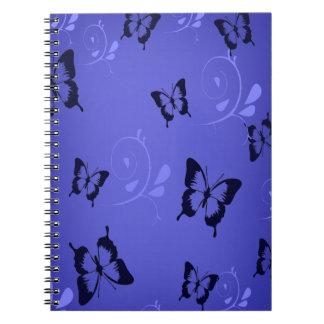 Blue Butterfies Notebook