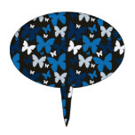 Blue Butterflies Cake Toppers
