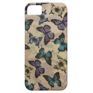 Blue Butterflies iPhone SE/5/5s Case
