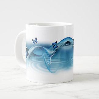Blue Butterflies Jumbo Mug