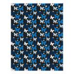 Blue Butterflies Letterhead Design