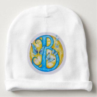 Blue Butterflies Love Ballet Baby Beanie
