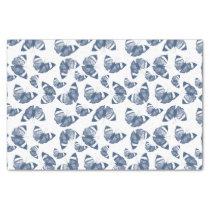 Blue Butterflies Tissue Paper
