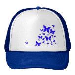 Blue Butterflies Trucker Hats
