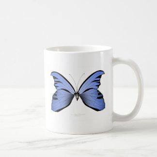 Blue Butterfly 1 Azure Huntsman Coffee Mug