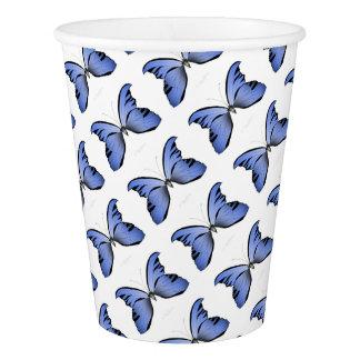 Blue Butterfly 1 Azure Huntsman Paper Cup