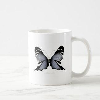 Blue Butterfly 3 Sulawesi Woodtree Coffee Mug
