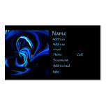 Blue Butterfly Abstract Business Cards