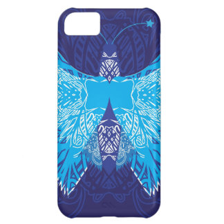 Blue Butterfly Abstract iPhone 5C Cover