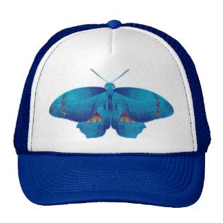 Blue Butterfly Art Trucker Hat