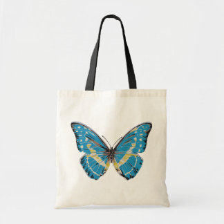 Blue Butterfly Canvas Bags