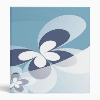 Blue Butterfly Binder