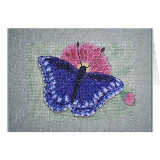 BLUE BUTTERFLY CARDS