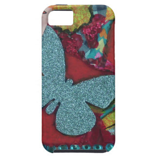Blue Butterfly iPhone 5 Covers