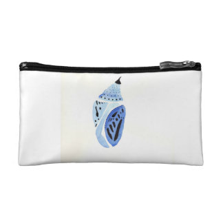 Blue Butterfly Cocoon Cosmetic Bag