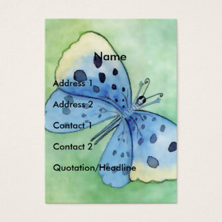Blue Butterfly - Customize Business Card