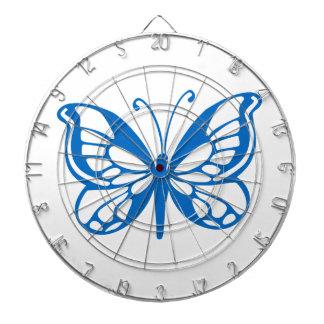 Blue Butterfly Dart Board