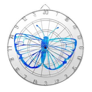 Blue Butterfly Dartboard