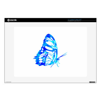 Blue Butterfly Decal For Laptop