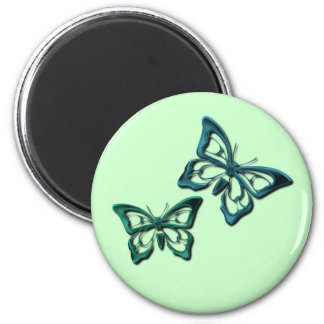 Blue Butterfly Designs Magnet Magnet