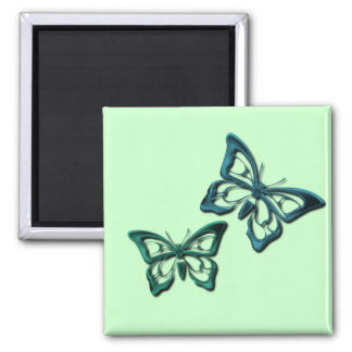 Blue Butterfly Designs Magnet Refrigerator Magnet