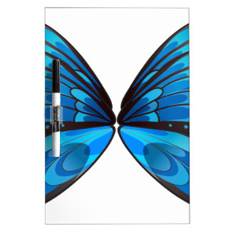 Blue butterfly Dry-Erase boards
