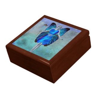 Blue Butterfly Fairy Gift Box