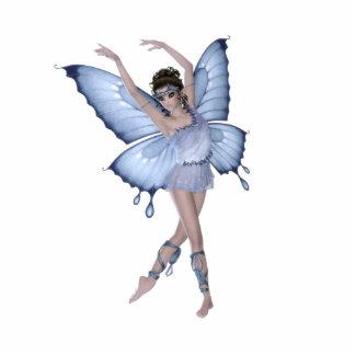 Blue Butterfly Fairy Princess Cutout
