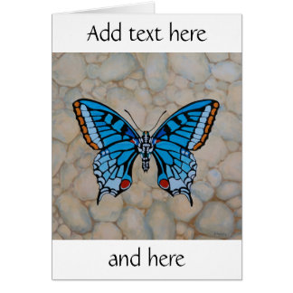 Blue Butterfly Gifts Card