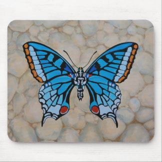 Blue Butterfly Gifts Mouse Pad