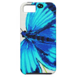 Blue Butterfly iPhone 5 Cases